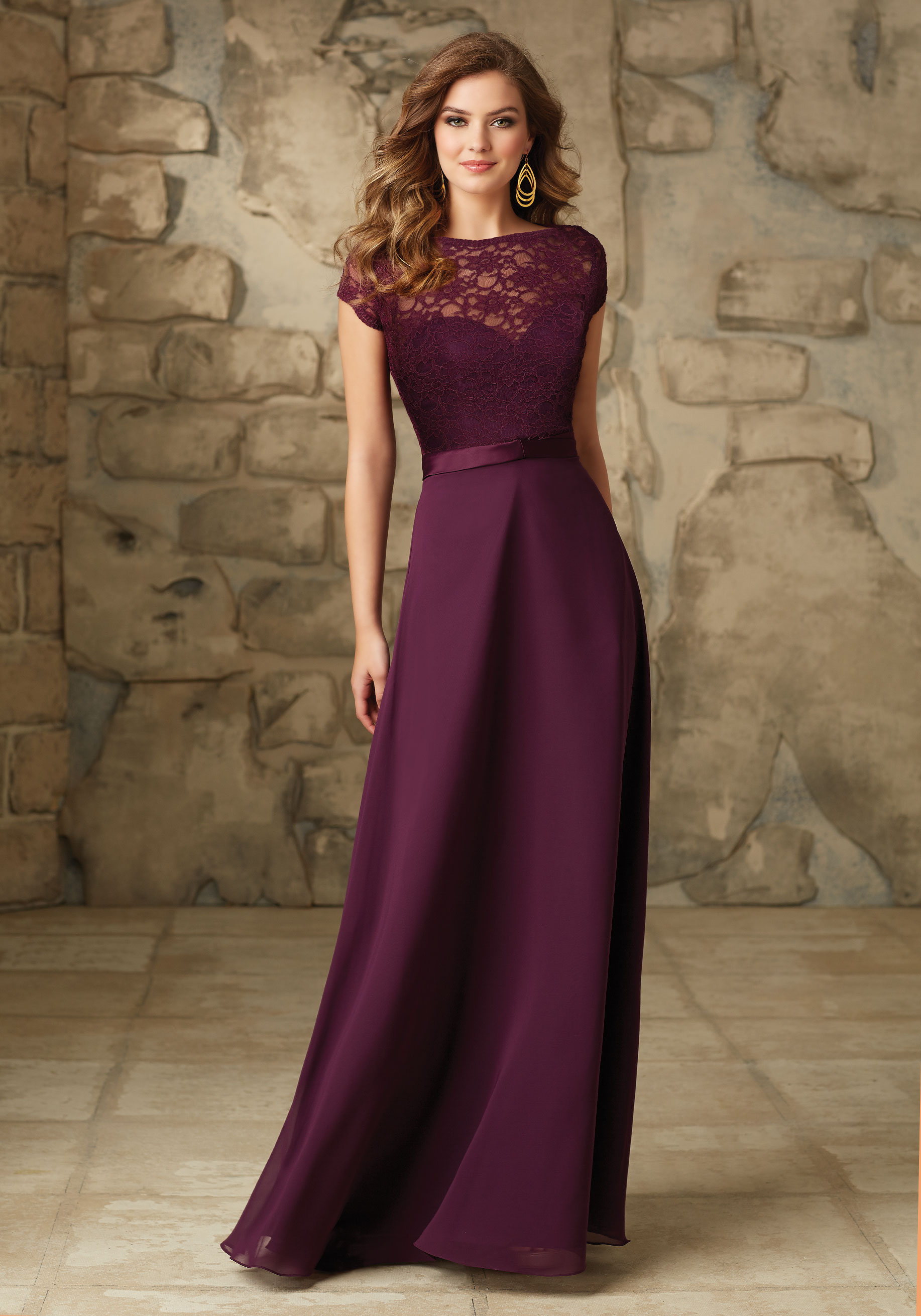 f505dbded58 101. PRICE €250. Satin and Chiffon dress ...